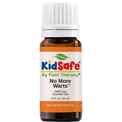 Plant Therapy No More Warts Essential Oil Blend   100% Pure, KidSafe, Undiluted, Natural Aromatherapy, Therapeutic Grade   10 milliliter (⅓ ounce)
