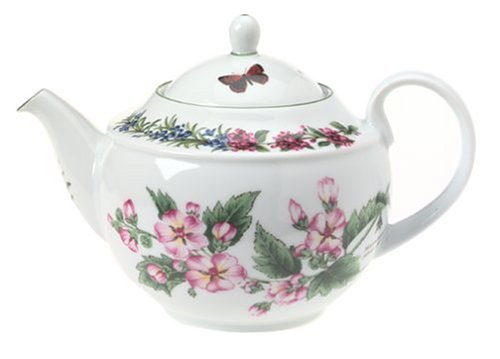 Royal Worcester Herbs Porcelain Tea Pot and ()
