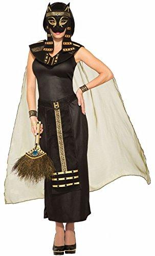 Egyptian Cat Masks (Forum Novelties Mythical Creatures Bastet Egyptian Cat Goddess Women's Adult Halloween)