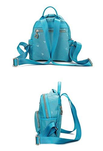 Dos CRR à Dos Sac Mini Nylon Imperméable Toile Sac à Lady Femme Bags Pr6wqFPx7