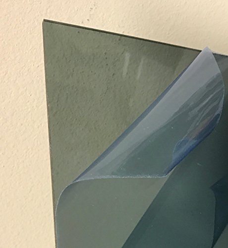 Clear Polycarbonate Sheet 3//8 .375 x 24 x 48 by SIBE-R-PLASTIC SUPPLY SM