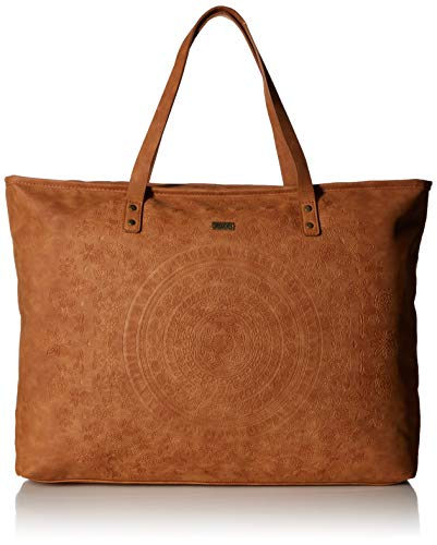 Roxy Set It On Fire Large Tote Bag, Camel