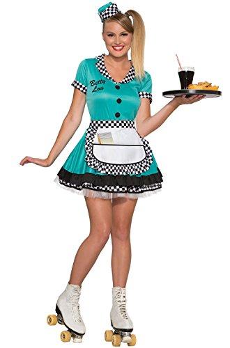 Memem (Diner Waitress Halloween Costume)