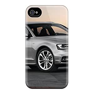 Durable Case For The Iphone 4/4s- Eco-friendly Retail Packaging(audi S4 Avant 2013)