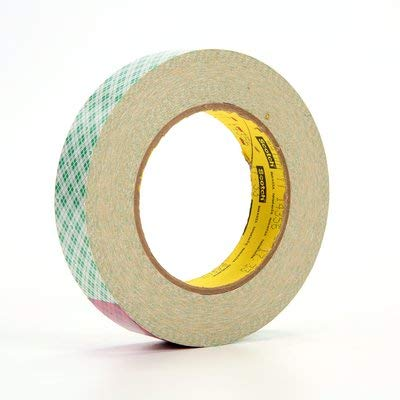 - Scotch Double-Coated Tissue Tape, 1 Inch x 36 Yards, 3 Inch Core (410M)