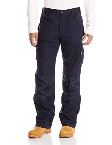 Caterpillar Men's Trademark Pant (Regular and Big & Tall Sizes), Navy, 38W x 32L