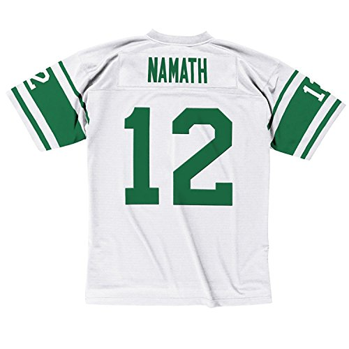 York Jersey Jets New (New York Jets Mitchell & Ness 1968 Joe Namath #12 Replica Throwback Jersey(XL))