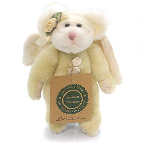 Boyds Bears Plush AURORA ANGEL ORNAMENT Fabric Teddy Bear Jointed 5623212