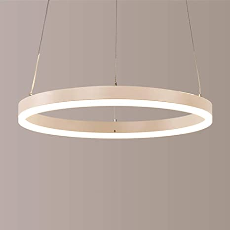 Lámpara de techo colgante moderna lámpara LED Araña redondo ...