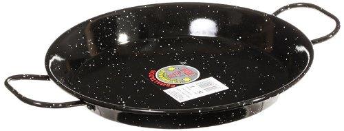 Garcima 11-Inch Enameled Steel Paella Pan, 28cm ()
