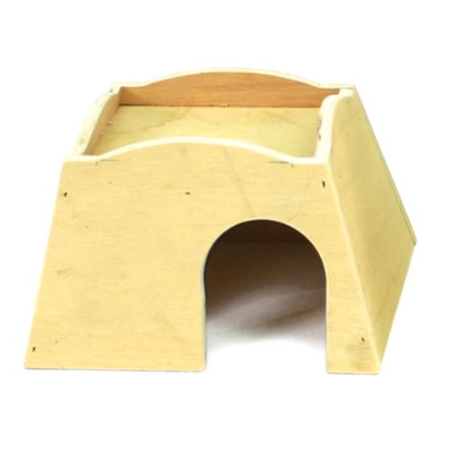 Ware Manufacturing Plywood Bungalow for Small Pets, Medium