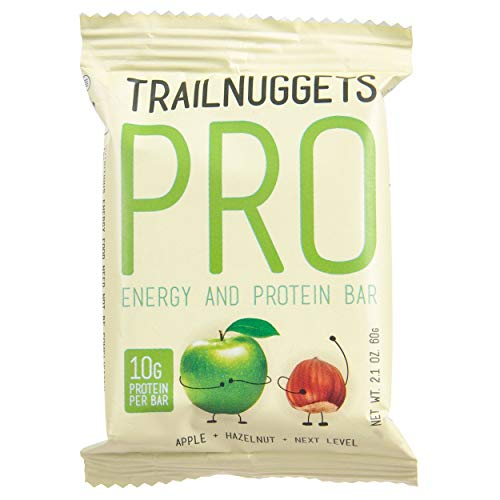 Trailnuggets Pro Apple Hazelnut Endurance and Energy Bar