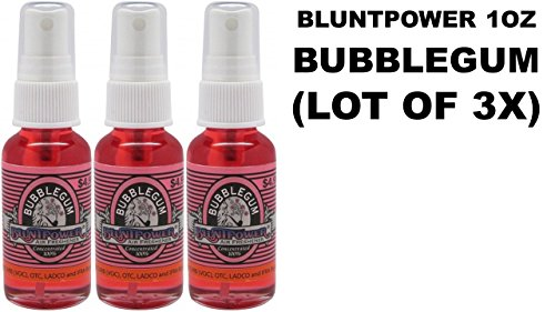 Summer Fruit Freshener Air (Bluntpower Oil Base 100% Concentrated Air Freshener 1oz- BUBBLEGUM (Lot of 3X))