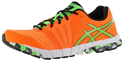 ASICS Men's GEL-Lyte33? 2 Flash Orange/Apple/Black Sneaker 9.5 D (M)