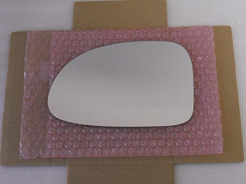 HEATED Mirror Glass with BACK PLATE for DODGE DAKOTA DURANGO Driver Side View Left LH ()