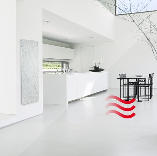 800 Watt Carrara Granotech/® Marmor-Infrarotheizung