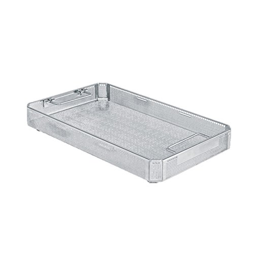 Miltex 750502 Three-Quarter Size Perforated Basket, 18.25'' Length x 11'' Width x 4'' Height