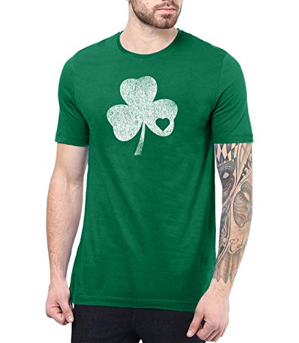 Mens Green St Patricks Day T Shirt - Irish Shirts Men | Shmrck HRT, S