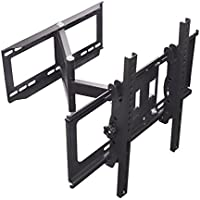 Sunydeal Full Motion Stud Wall TV Mount Bracket for Samsung Vizio LG Sony Sharp TCL Panasonic Insignia Sanyo Emerson Aquos Element 30 - 60 inch Plasma LCD LED 4K Flat Panel Smart TV, Tilt & Swivel