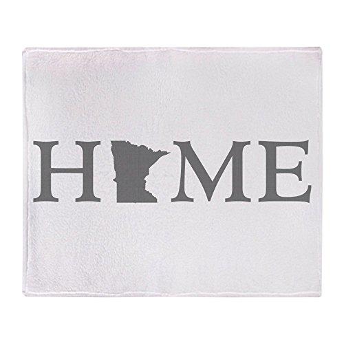 CafePress Minnesota Home Soft Fleece Throw Blanket, 50