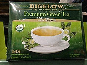 Bigelow Organic Green Tea 168 Ct