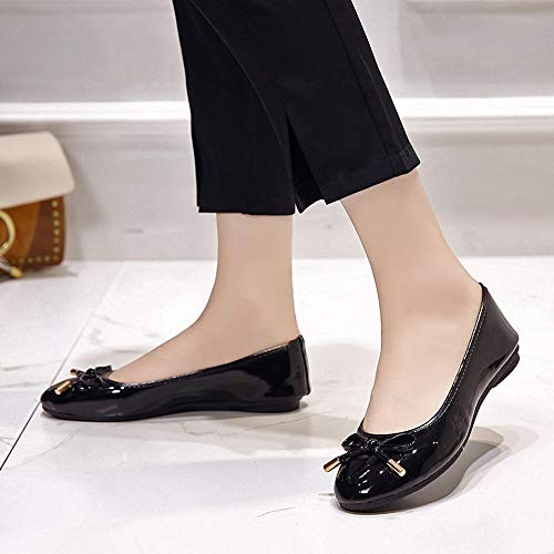 Noir Plates Des Plat Bouche Plat Talon Chaussures Cat Femme Escarpins lucky Set La Bas Pied Papillon Bottes De Sexy noeud Sandales Femmes 2018 Ra0qBw