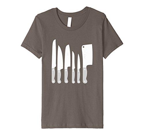 Kids Knife kit kitchen tools gadget shirt 8 Asphalt