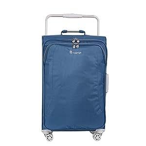 "it luggage World's Lightest 27.6"" 8 Wheel Lightweight Spinner , Blue Ashes"