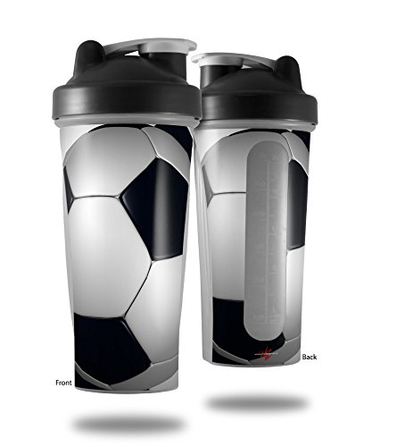Soccer Ball - Decal Style Skin Wrap fits Blender Bottle 28oz (BOTTLE NOT ()