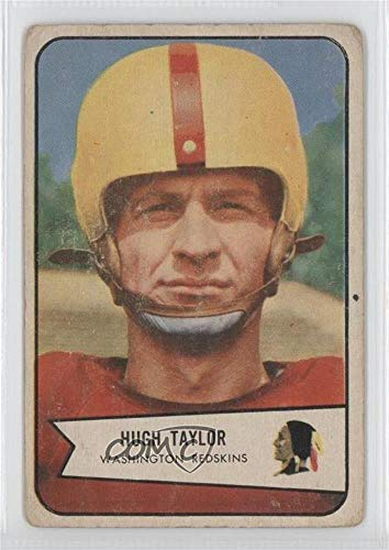 Hugh Taylor Ungraded COMC Good to VG-EX (Football Card) 1954 Bowman - [Base] - Cards Football 1954