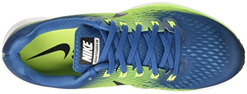 Nike Chlorine Scarpe Uomo Black White Blue Pegasus Air 34 Industrial Running Blue Volt Multicolore Zoom rqIrZwBT
