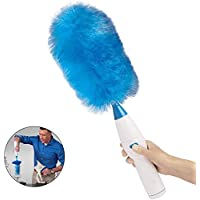 Electric dust collector, 360 ° spin dust collector, electric dust collector, wireless electrostatic dust collector, telescopic dust collector, rotating cleaning brush can be charged