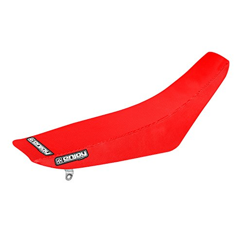 Enjoy MFG 2002 - 2008 CR 125 - 250 All Red Full Gripper Seat Cover