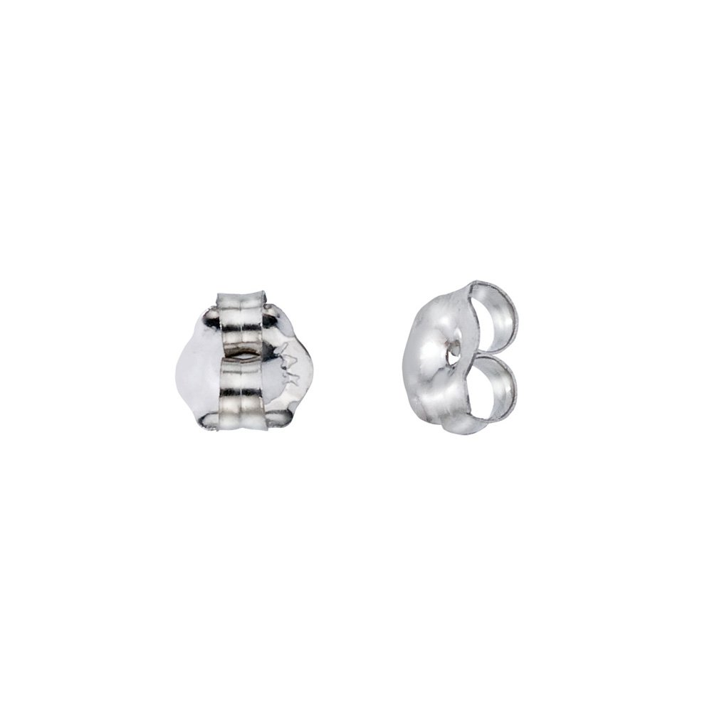 14k White Gold Replacement Earring Backs (1 Pair) by Direct-Jewelry