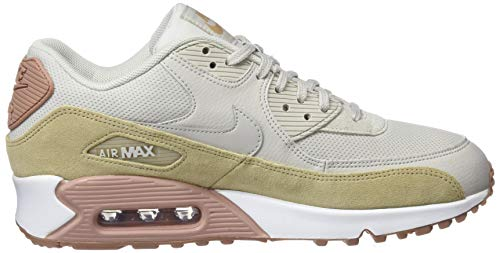 Mehrfarbig De Gymnastique Max Bone Pink Femme Air mushroom 90 light Chaussures Nike particle qxOXw0IH