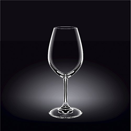 Wilmax 888015 420 ml Wine Glass Set of 644; Pack of 8 by Wilmax