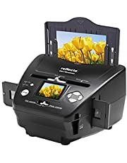 Reflecta 64220 Film/slide scanner 1800 x 1800DPI Zwart - Scanner (1800 x 1800 dpi, 24 bit, Film/Slide scanner, Zwart, LCD, 6,1 cm (2.4 inch)