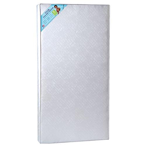 Kolcraft Fresh Start Poly-Foam Crib Mattress, White Windsor