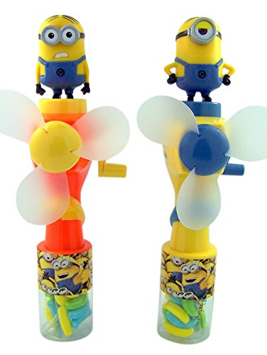 Despicable Me Minions Water Misting Fan with Candy, Pack of 2