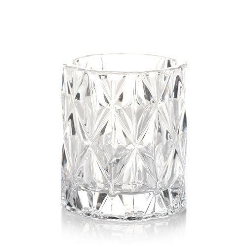 Yankee Candle Fractal Glass Votive Candle Holder