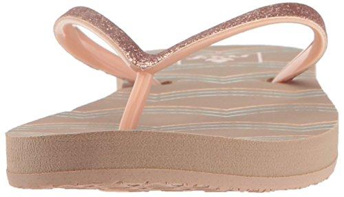 Der Stargazer der Riff-Frauen druckt Sandale Porzellan Wellen