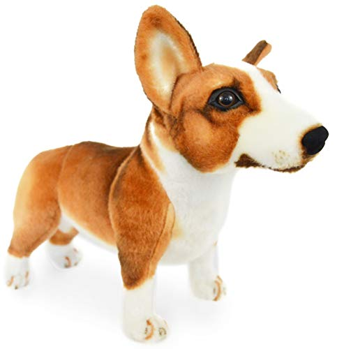 (VIAHART Caerwyn The Pembroke Welsh Corgi | 18 Inch Large Welsh Corgi Dog Stuffed Animal Plush Dog | by Tiger Tale Toys)
