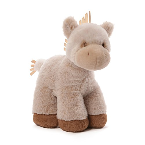 GUND Baby Oh So Soft Pony Baby Stuffed Animal, Brown