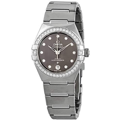 Omega-Constellation-Automatic-Chronometer-Diamond-Grey-Dial-Ladies-Watch-13115292056001