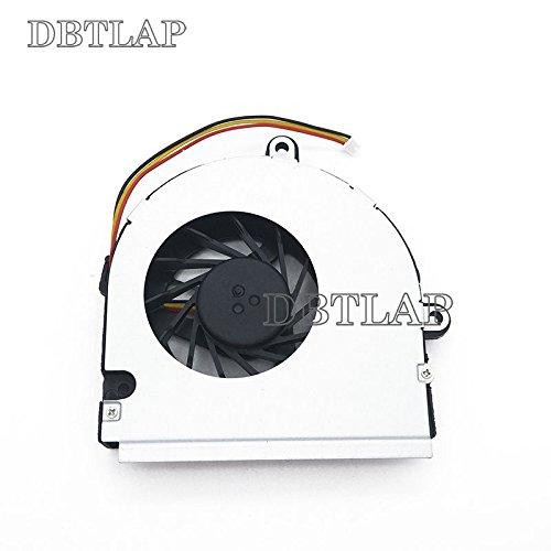 DBTLAP Ventilateur CPU pour ASUS K43B K43T K53B K53T K53BY A53U X53B X53U Ordinateurs Portables Ventilateur