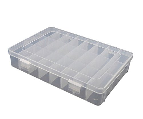 Perline Perlenbox Box nuovo Super Large Contenitore a ordinamento Nuovo 25cm B25 b025