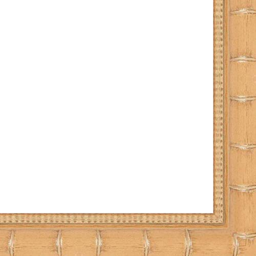 12x18 2'' 'Bamboo' Natural/Light Brown Wood Frame - Great for Posters, Photos, Art Prints, Mirror, Chalk Boards, Cork Boards and Marker Boards by FramingSPORTS