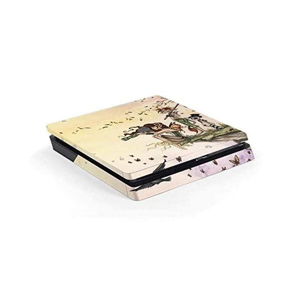 Skinit Decal Gaming Skin Compatible with PS4 Slim - Officially Licensed Tate and Co. Where The Wind Takes You Design 2