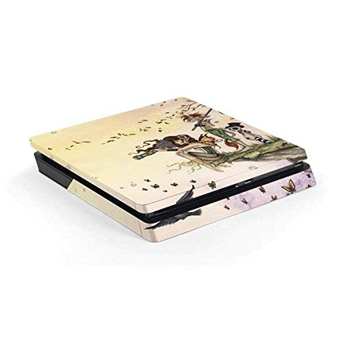 Fantasy & Dragons PS4 Slim (Console Only) Skin – Where The Wind Takes You | Skinit Art Skin