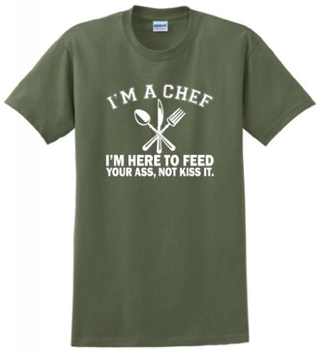 Chef Here Feed Your T Shirt